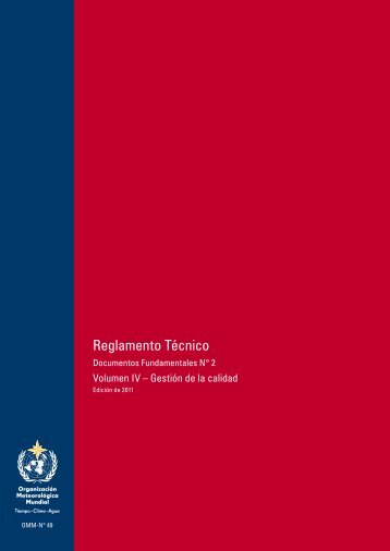 Reglamento Técnico - E-Library - WMO
