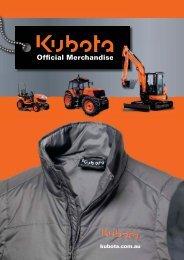 Official Merchandise - Kubota