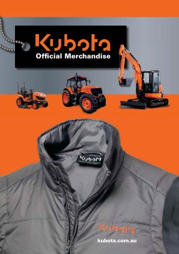 Official Merchandise - Kubota