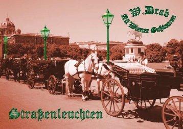Strassenleuchten - W.Drab - Alt Wiener Gusswaren