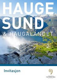 Info og priser for annonsering i 2012 brosjyren - VisitHaugesund.no