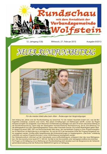 KW 09 - Verbandsgemeinde Wolfstein