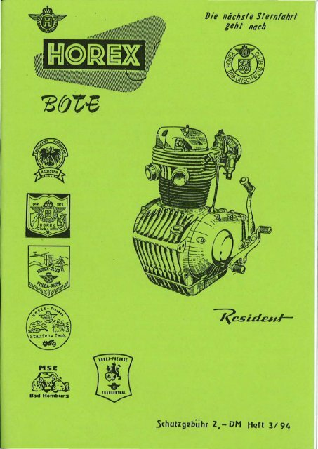 350 400 Zündkontakt Unterbrecher Horex Regina 250