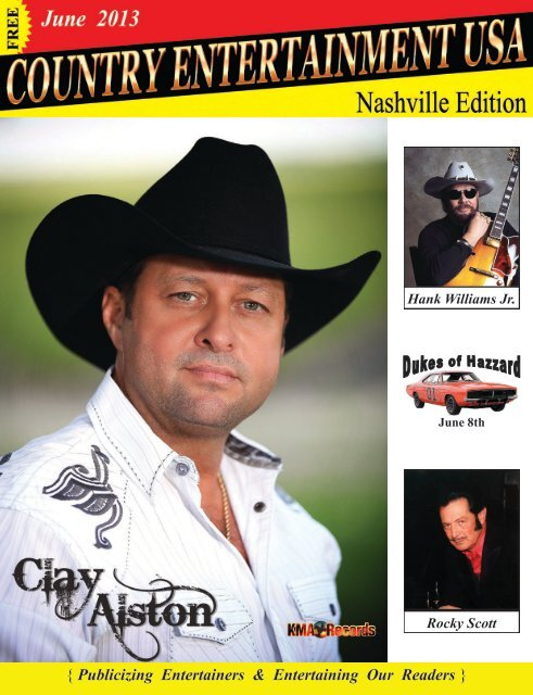June 2013 Issue - Country Entertainment USA
