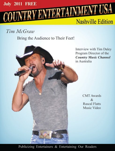 2011 July Issue - Country Entertainment USA
