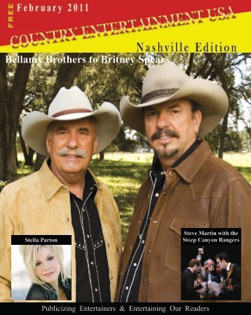 Bellamy Brothers to Britney Spears - Country Entertainment USA