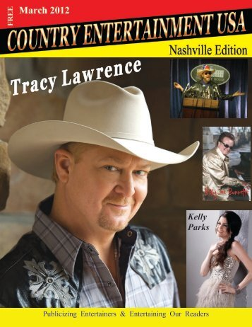 March 2012 Issue - Country Entertainment USA