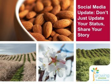Social Media Update: Don't Just Update Your Status, Share Your Story