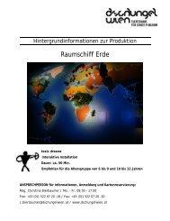 Begleitmaterial Raumschiff Erde - Dschungel Wien