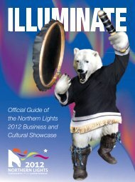 Official Guide of the Northern Lights 2012 Business and Cultural ...