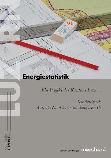 Publikation anschauen im PDF - uwe - Kanton Luzern