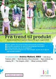Fra trend til produkt - Kids n' Tweens Lifestyle
