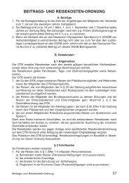 Beitrags- und Reisekostenordnung - Deutscher Tennis Bund