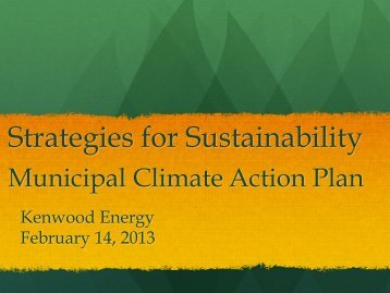 Strategies for Sustainability by Tim Holmes - Solar Sonoma County