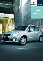 SX4 Streetline - Auto Havelka