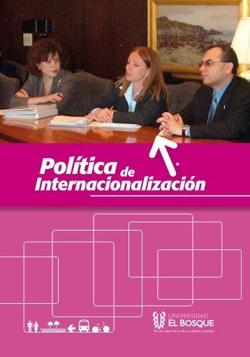 Políticade - Universidad El Bosque