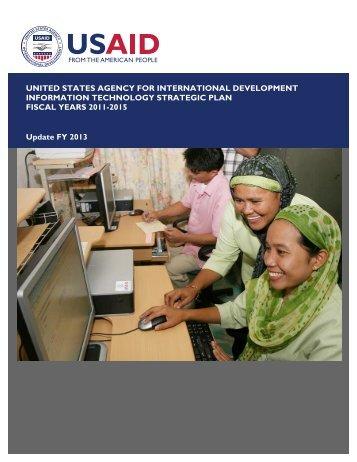 USAID IT Strategic Plan (ITSP)