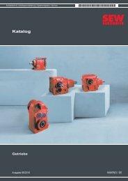 Katalog Getriebe - SEW-Eurodrive