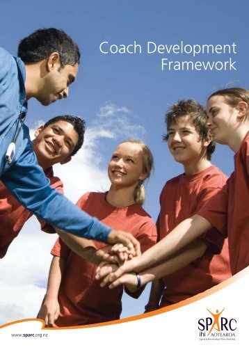 Coach Development Framework - Sport New Zealand