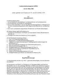Landesreisekostengesetz (LRKG) vom 24. März 1999 zuletzt ...