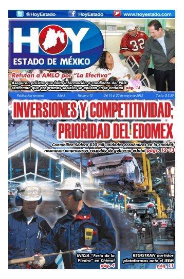 "Refutan a AMLO por ""La Efectiva"" - HOY Estado de México"