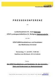 PK-Unterlage Innviertel - Braunau - ÖVP
