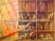 Insegnare e apprendere con gli eBook - Laboratorio Formazione