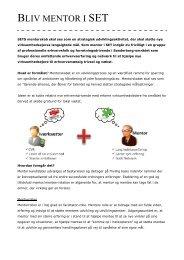 Læs mere om at være mentor her (pdf)