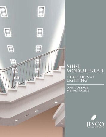 Front Cover (2) - Jesco Lighting
