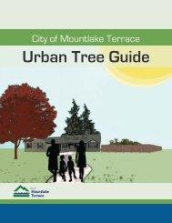 City of Mountlake Terrace Urban Tree Guide - Community ...