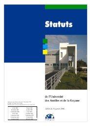 édition du 16 janvier 2006 - Université des Antilles et de la Guyane
