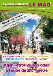 Journal de projet n°1 - Ville d'Agen