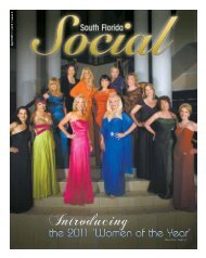 A p ril 2 0 11 • v o l.9 • is s u e 2 - South Florida Social