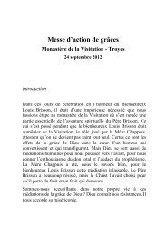 Messe d'action de grâces - Franz Sales Verlag