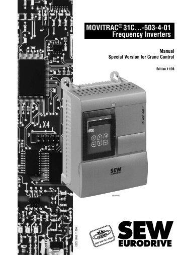 6 sew eurodrive rh yumpu com movitrac 31c manual portugues sew movitrac 31c manual pdf