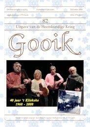 Nummer 82.qxd - Heemkundige Kring van Gooik