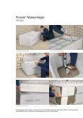 Poresta® Montagesysteme für Bade- und Duschwannen - Seite 7