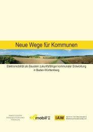 Elektromobilität: Neue Wege für Kommunen - e-mobil BW
