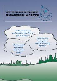 Vanamo-brochure in PDF format - Lahti