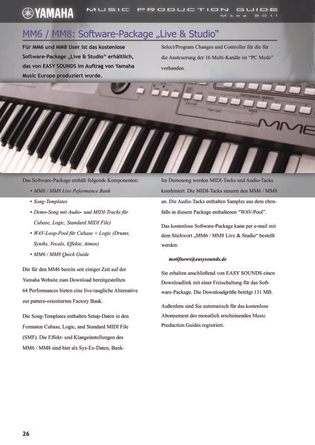 dirk sengotta mr. drummachine - EasySounds