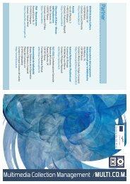 La brochure - Storia e Futuro