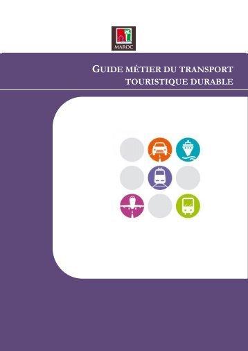 Guide-métier Transport 2013 - Sustainable Business Associates