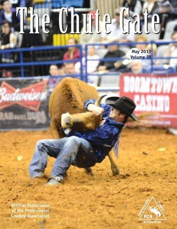 May 2013 / Volume 25 - Professional Cowboy Association