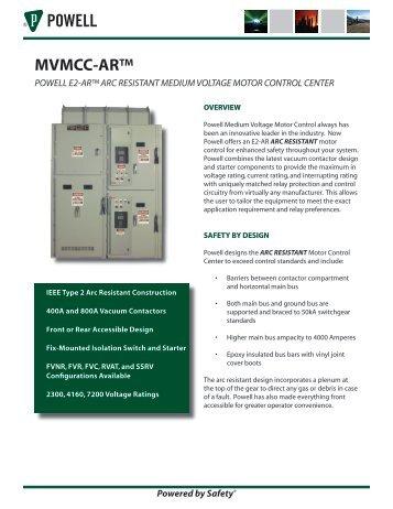 arc resistance switchgear