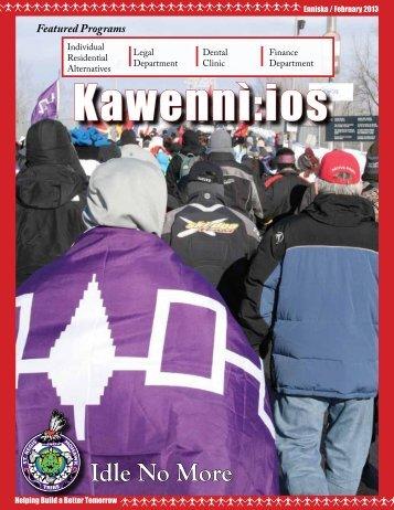 Kawennì:ios Newsletter - Enníska / February 2013 - Saint Regis ...