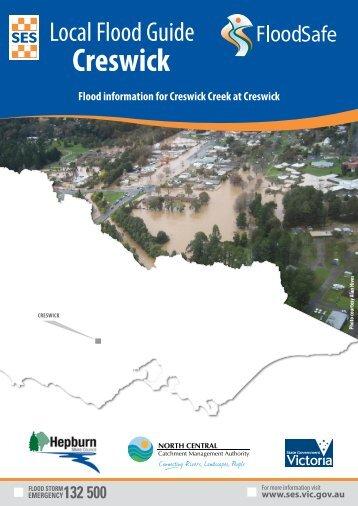 Creswick Local Flood Guide.pdf - Victoria State Emergency Service