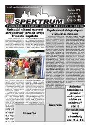 spektrum_2007_32 - Mesto Stropkov