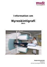 Nyreskintigrafi på børn - Regionshospitalet Randers