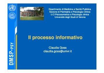 Paziente - Università degli Studi di Verona