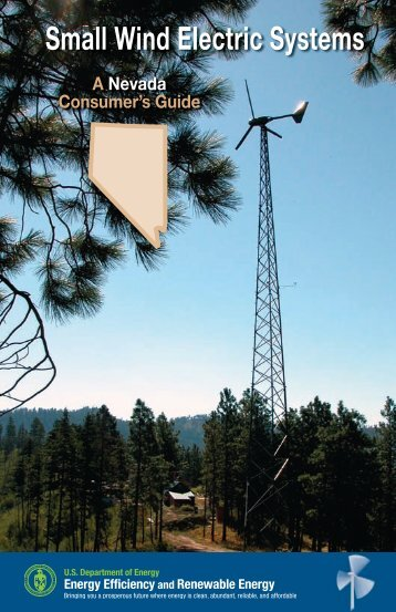 Small Wind Electric Systems: A Nevada Consumer's Guide - NREL